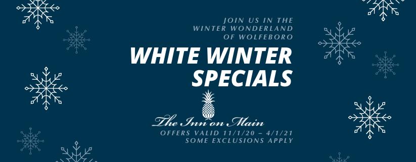 Inn on Main Winter Specials