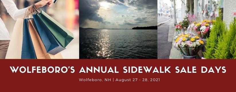 Wolfeboro's Annual Sidewalk Sale Days